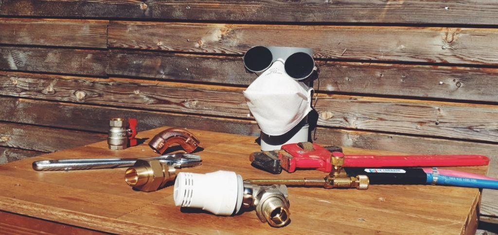 outils de plombier-chauffagerie