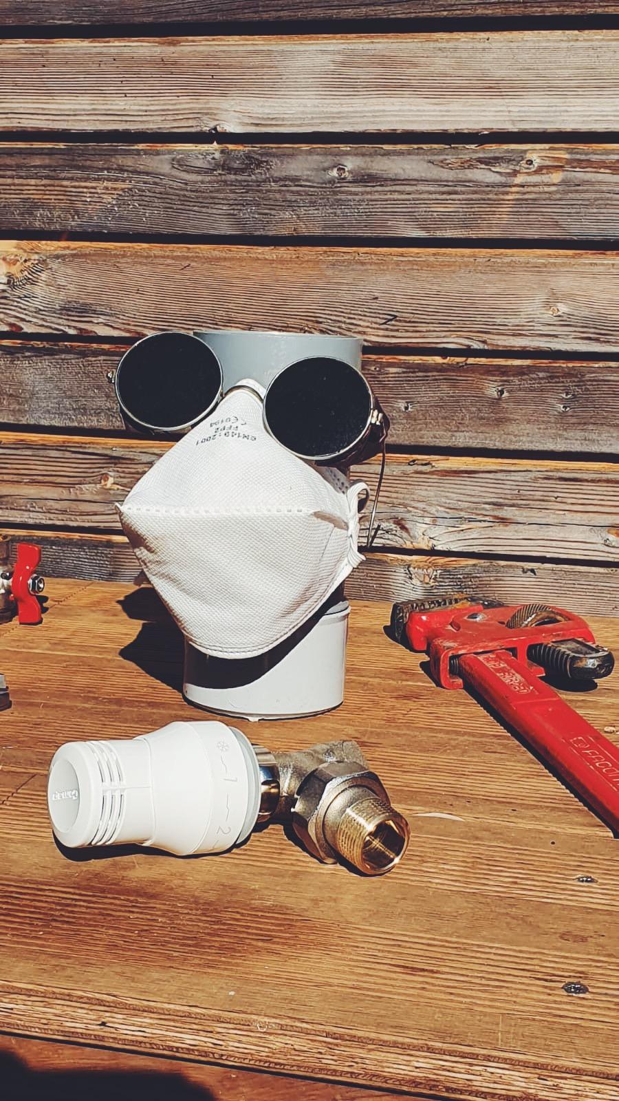 Matériels de chauffagerie plomberie avec une protection contre les virus